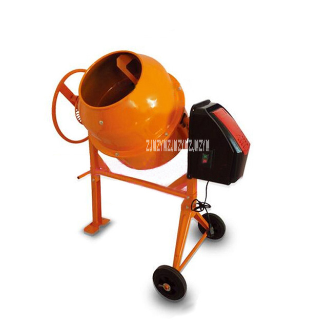 New Upgrade Mute Electric Vertical Small Animal Feed Mixer CM140L  High-quality Cement Concrete Mortar Mixer 110V/220V 550W 140L