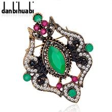 NEW Vintage Brooch PinS Beauty Elegant brooch rhinestone brooches fashion jewelry for women danbihuabi brand