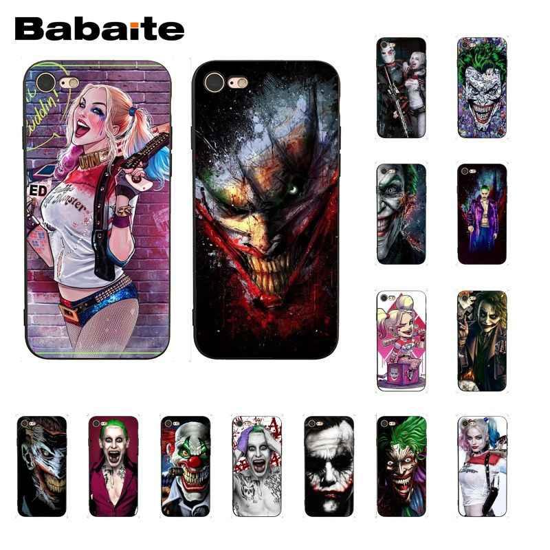 Babaite 自殺ナイトジョーカーハーレークインピエロ漫画 PhoneCase ため iphone 11 プロ 11Pro 最大 8 7 6 6S プラス X XS 最大 5 5S 、 SE XR