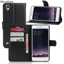 MicroData Luxury PU Leather Flip Case For Oppo F1 Oppo A35 5.0 Inch Wallet Stand  Leather Case Cover On Oppo F1 A35 5.0 Inch 83a6d002dc51