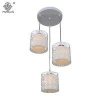 Kitchen Pendant Lights Modern Indoor Dining Room Lamp White Glass Hanging Lighting Flower Hollow Pendant Lamps