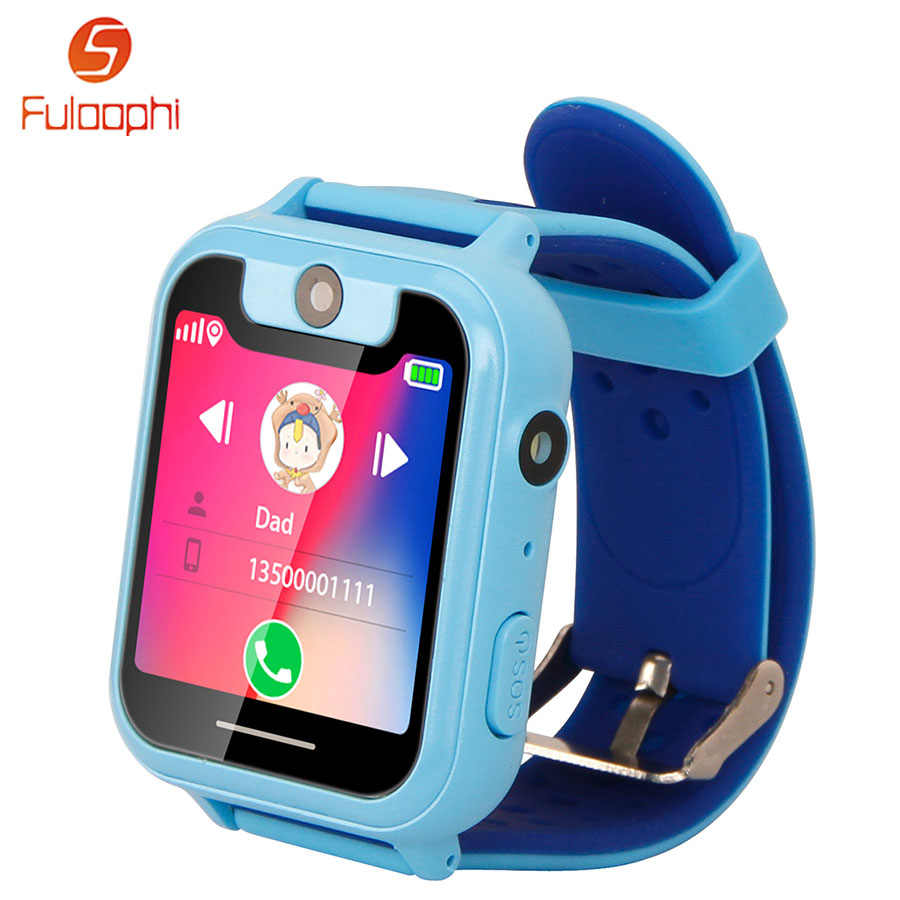 a6fd70145 Children Watches For Boys Girls S6 1.54 inch Touch Screen Smart Watch Phone  SOS GPRS Location