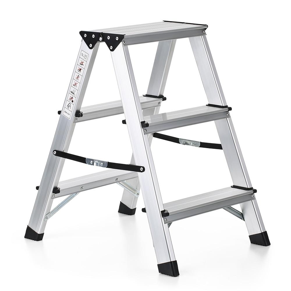 Awe Inspiring Us 44 19 45 Off Folding 2 Step Ladder 330 Pound Capacity Portable Aluminum Stepladder Non Slip Folding Ladder Extension Home Outdoor Ladder In Lamtechconsult Wood Chair Design Ideas Lamtechconsultcom