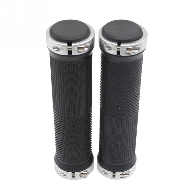 1 pair High quality Bike Bicycle Handlebar Cover Grips Smooth Soft Rubber Handlebar handlebar cover handle bar end 5
