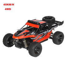 Fashion High Qaulity 1:18 2.4GHZ 4WD Radio Remote Control Off Road RC RTR Racing Car Truck Boy Kid Gift Collection Toys