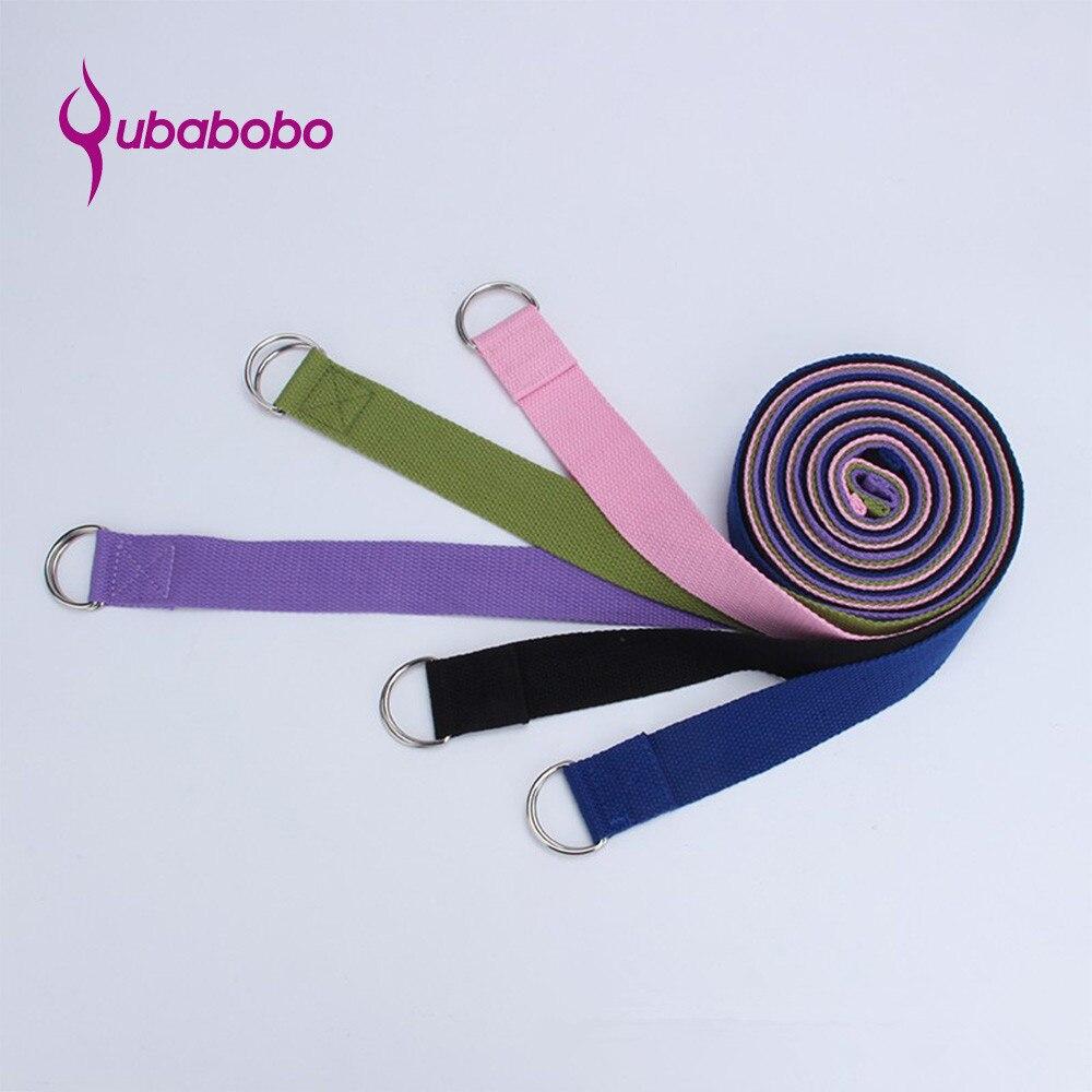 QUBABOBO 183 * 3.8 CM karcsúsító jóga szíjak jóga övek otthon - Fitness és testépítés