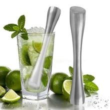 Барный пестик из нержавеющей стали Mojitos напиток Muddler Профессиональный бармен инструмент HTQ99