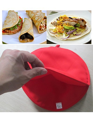 New Reusable Washable Tortilla Bag For Pizzas Tocos Pan Cakes Microwave Partner As Seen On TV