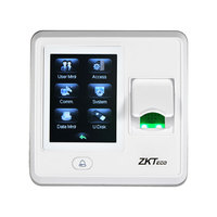 IP based fingerprint terminal ZKTeco SF300 Up to 15 multi verification methods to enhance security level Wiegand output