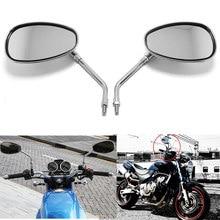 Racbox retrovisor de moto vt750 vt1100, 2 peças, espelho de moto pistola, moto, rfiets, 10mm para sombra ace vf750