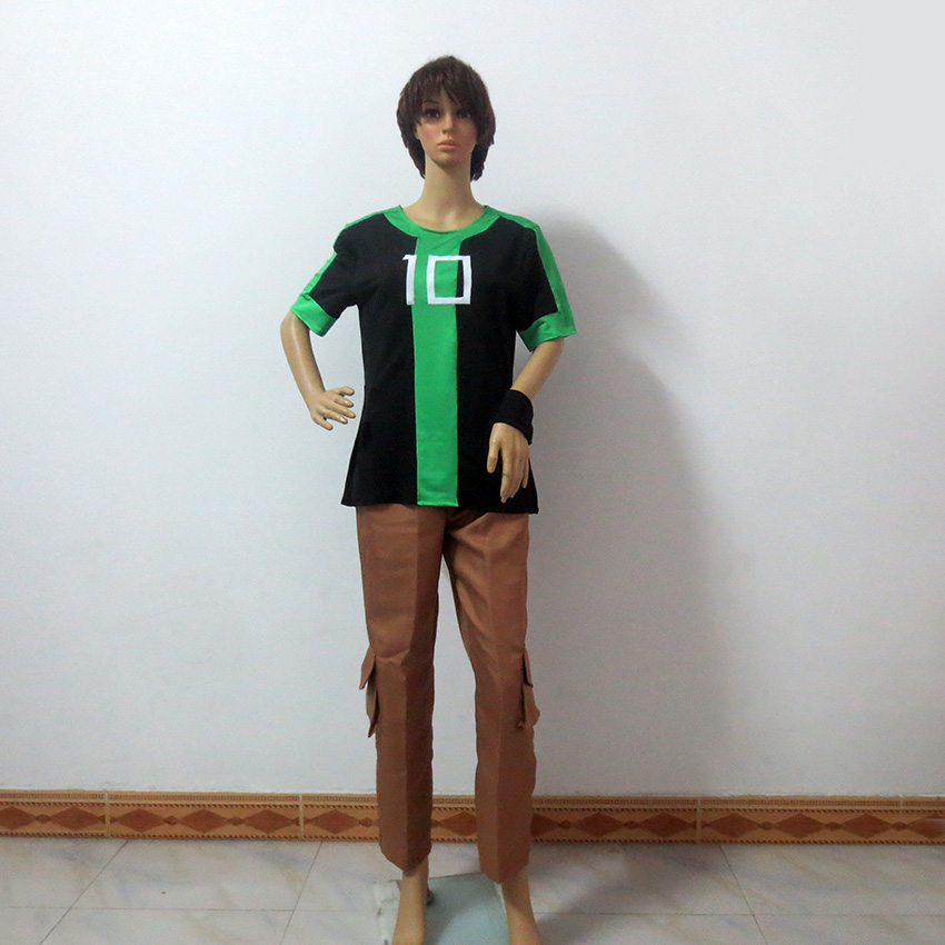 Ben 10 Ben Tennyson Christmas Party Halloween Uniform Outfit Cosplay Costume Customize Any Size