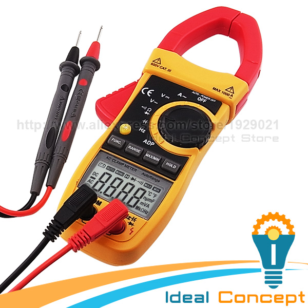 AC Current Clamp Multimeter AC / DC Voltage Diode Capacitance OHM ADP Measurement мультиметр multimeter 5818 ac dc w