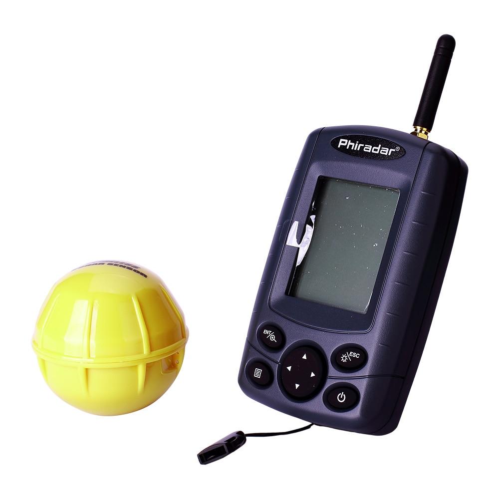 Buy free shipping phiradar ff168w for Wireless fish finder