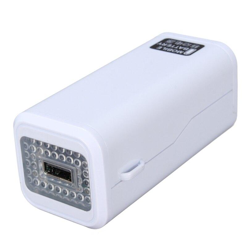 No. 5 aa batería usb diy caso banco de la energía del teléfono móvil caja de fue