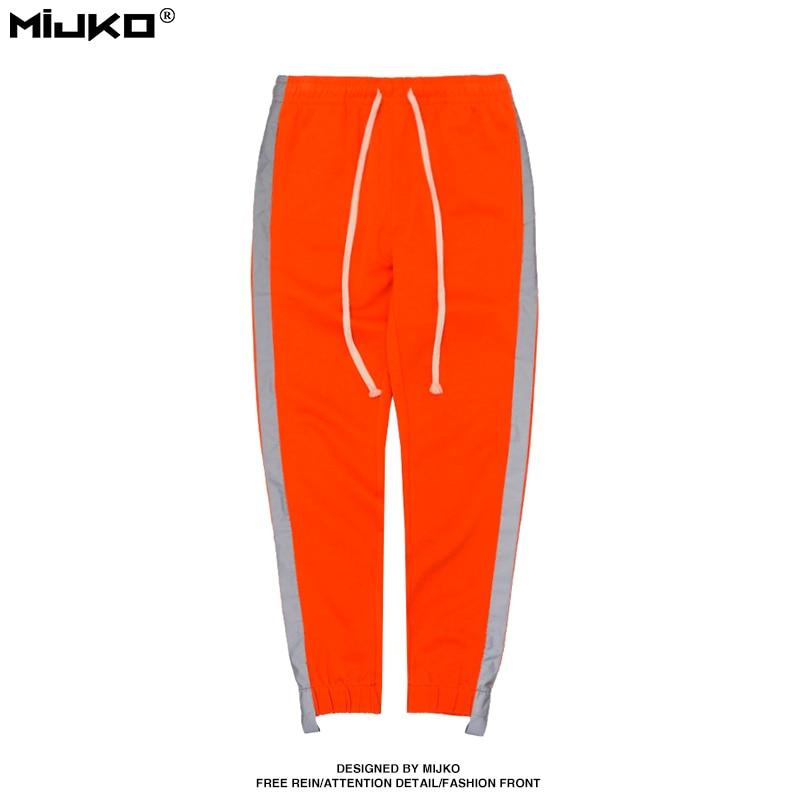 السراويل MIJKO للرجال 2018 الربيع والصيف - ملابس رجالية