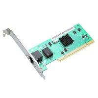 PCI Gigabit כרטיס רשת האחרון כרטיס רשת אופטי RJ45 רשת כרטיס עם Realtek שבב Intel82540EM