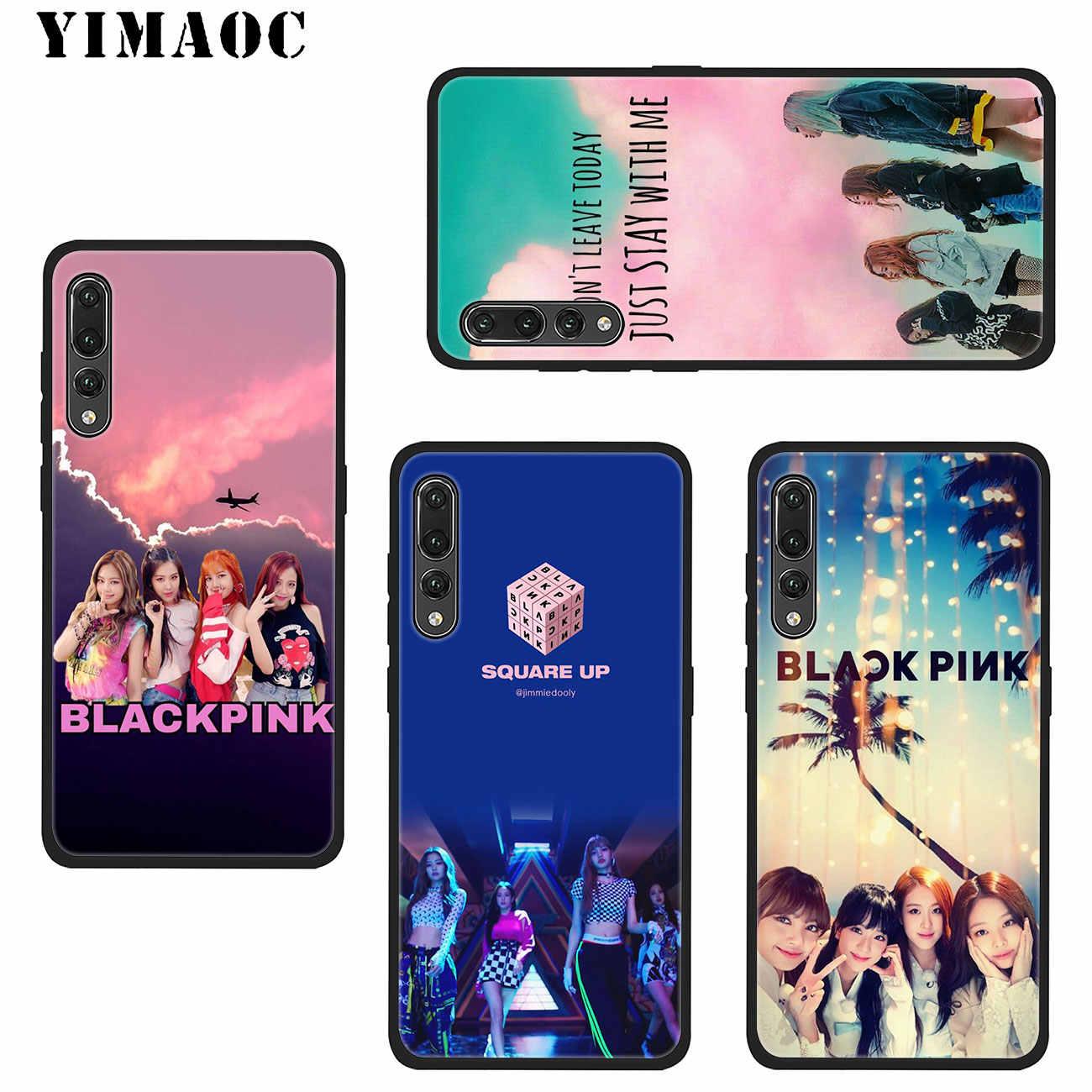 YIMAOC JENNIE BLACKPINK Kpop LISA Soft Silicone Phone Case for Huawei P20  Pro P10 P9 P8 Lite Mini 2017 P Smart 2019 TPU Cover