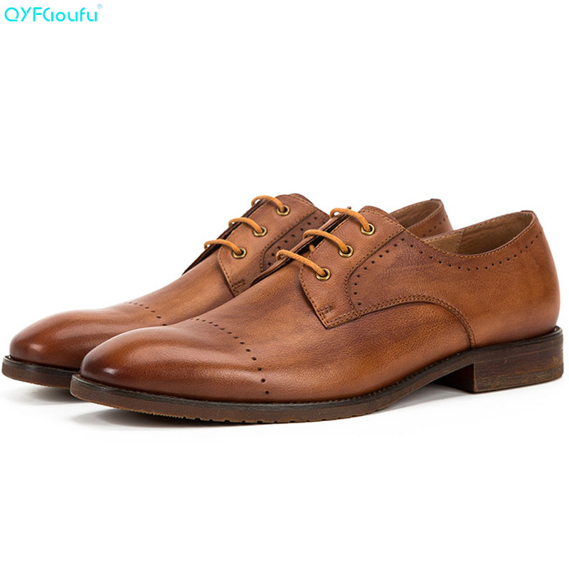 Mens Black Brown Shoes Lace Up Formal Smart Dress Work Casual Wedding Shoes 1700