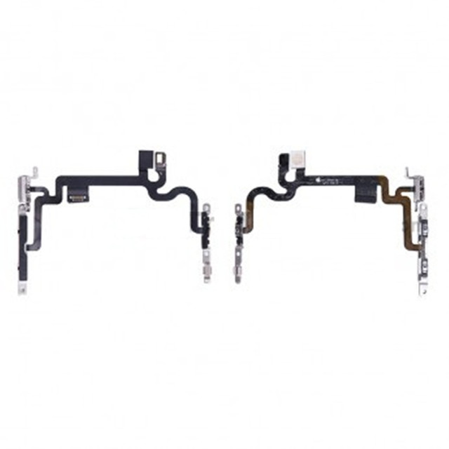 low priced 9eeb3 e8b73 US $4.98  For Apple iPhone 7 Power Button and Volume Button Flex Cable  Ribbon Assembly Replacement!!-in Mobile Phone Flex Cables from Cellphones &  ...
