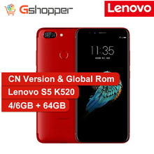 Global Firmware Lenovo S5 K520 Smartphone 4GB RAM 64GB ROM Snapdragon 625 Octa Core Mobile Phone 5.7″ Dual Rear Camera 13MP