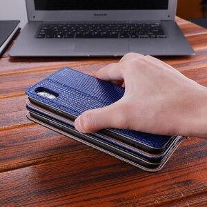 Image 3 - Estojo De Couro genuíno Para o iphone Xs Max X Xr X 8 7 6 6s Plus Flip Stand Durável Macio inner Titular do Cartão Caso Capa Para o iphone 7 8
