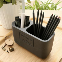 Simple brush pen student brush collecting cartridge receiver office cosmetics European creative pen holder silicone mold