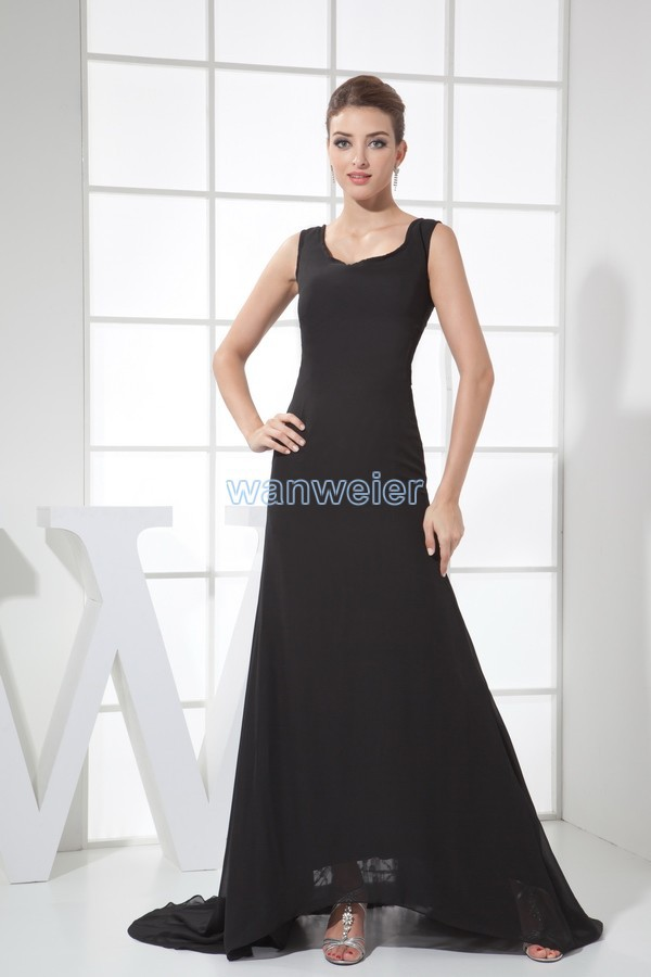 free shipping 2015 hot sale vestidos de fiesta long black formal gowns custom size/color mermaid lace and chiffon   evening     dress