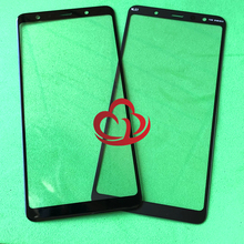 10 stks/partij Vervanging LCD Front Touch Screen Glas Outer Lens Voor Samsung Galaxy A7 2018 A750 A750F A750G A750DS A750FN