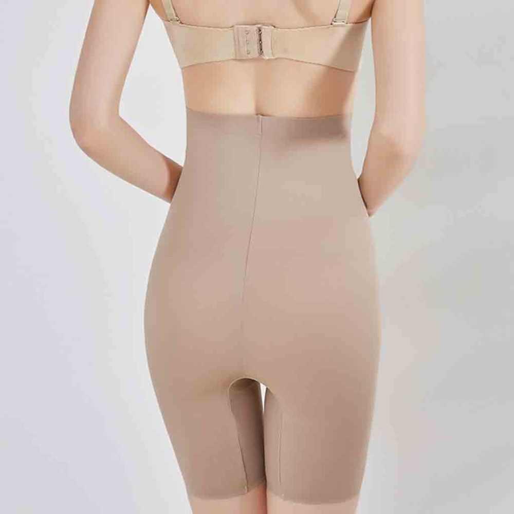 Kobiety bielizna modelująca kontrola brzucha spodenki wysokiej talii majtki połowy uda Body Shaper Body odchudzanie Butt podnośnik talia trener majtki B4