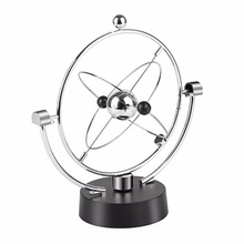 Oscilación magnética cinética Orbital artesanía decoración de escritorio equilibrio perpetuo globo Celestial Newton péndulo adornos para el hogar