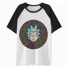 Rick And Morty trippy psychedelic t-shirt
