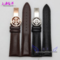 20mm 22mm  New Watches Genuine Leather Wrist Watch Band Strap Women Men Butterfly Watch Buckle