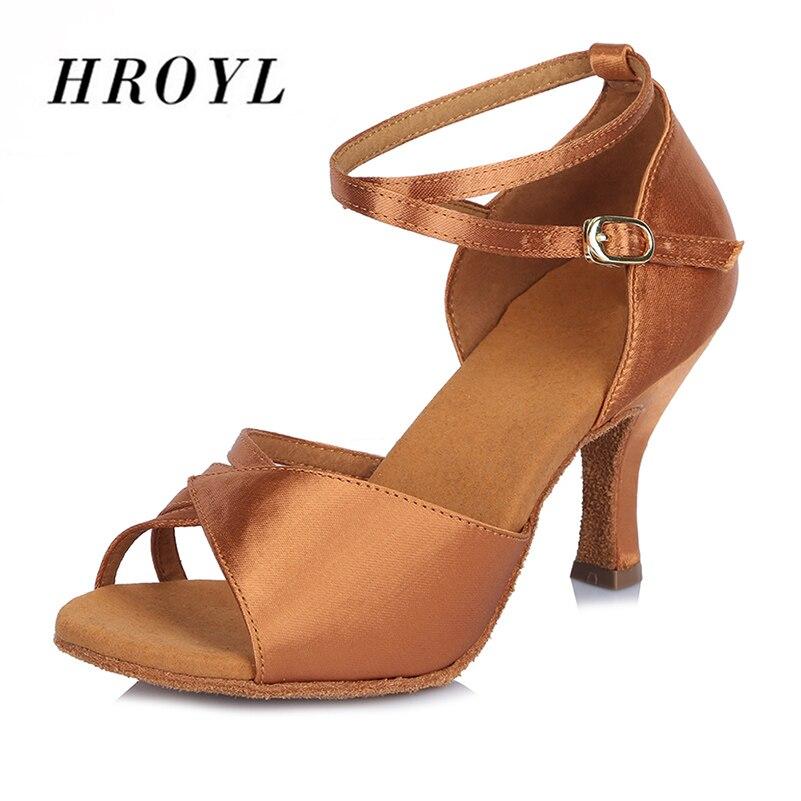 Practice Latin Dance Shoes Woman Shoes Ladies Ballroom Dance Sadals Girls high heel Tango Shoes