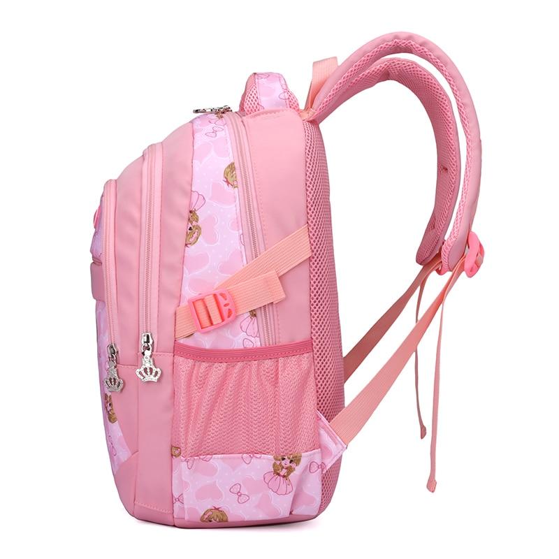 Di Svegli Black Zaino Alunni Ragazze Fumetto Bambini In Nylon blue pink Scuola Zaini Infantil Mochila Schoolbag green Per Alleggerimento fSxPZ0S