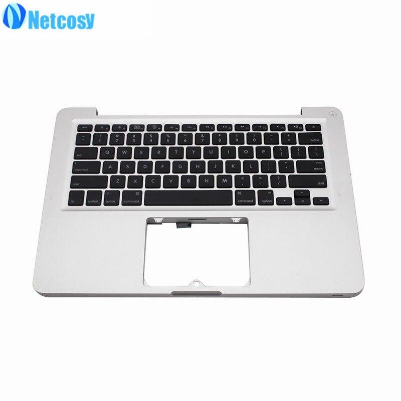 Netcosy 97% Nouveau A1278 Pour Macbook Ruban Haut Haut Cas Avec Clavier US Pour Macbook Pro 13