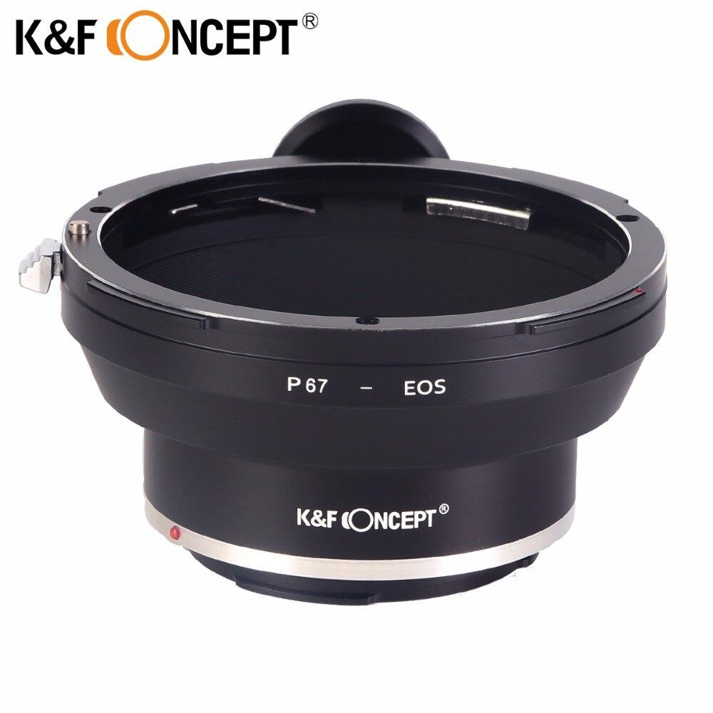 K & F CONCEPT 67mm filtre filetage Macro montage inverse adaptateur anneau pour Canon EOS caméra avec 67mm filtre filetage objectif livraison gratuite