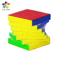 2018 YUXIN Professional Rubiks Cube 7x7x7 Competition Speed Magic Cube Twist Puzzle Toys For Children Gift Neo Cubes Fidget Cubo