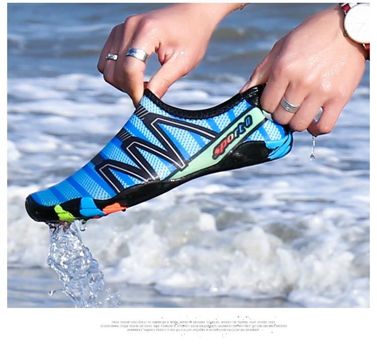 Drop-shipping Outdoor lovers beach Summer Outdoor Shoes Upstream Walking Water Quick Drying sneaker Shoes zapatos de hombre 5