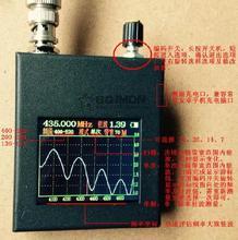 Walkie-talkie antenna analysis frequency standing wave tester standing wave spectrum analyzer tools