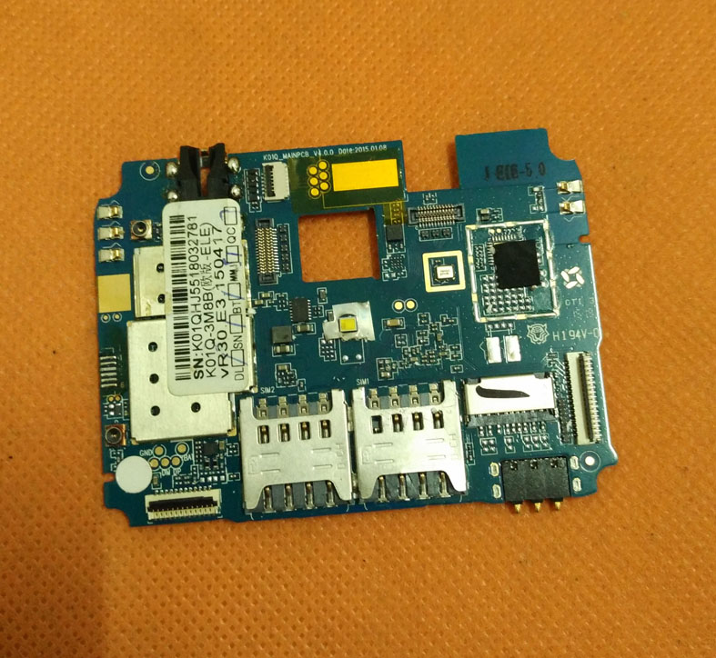 imágenes para Original Placa Base placa base 3G RAM + 16G ROM para Elephone P6000 Pro 5.0 HD 1280*720 MTK6753 Octa Core Envío gratis