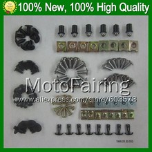Fairing bolts full screw kit For KAWASAKI NINJA ZX-6R ZX 6 R ZX 6R ZX6R ZX636 ZX 636 2009 2010 2011 2012 A151 Nuts bolt screws