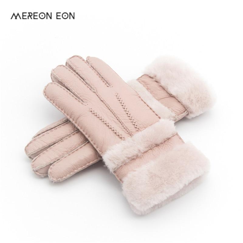 Special Women Warm Woolen Mittes