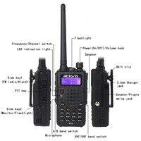 """מכשיר הקשר Retevis RT5 מכשיר הקשר 7W 128CH VHF UHF Dual Band VOX FM רדיו סורק חובב CB רדיו תחנת Communicator Hf מקמ""""ש (2)"""