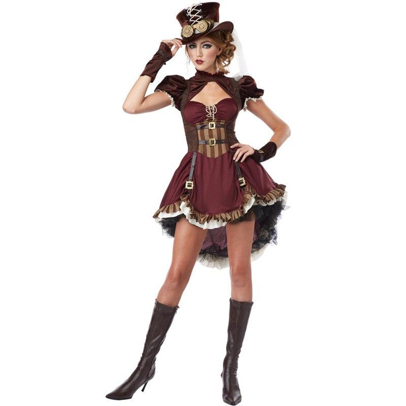 Vocole Female Sexy Pirate Cosplay Costume Adult Women Corsair ...