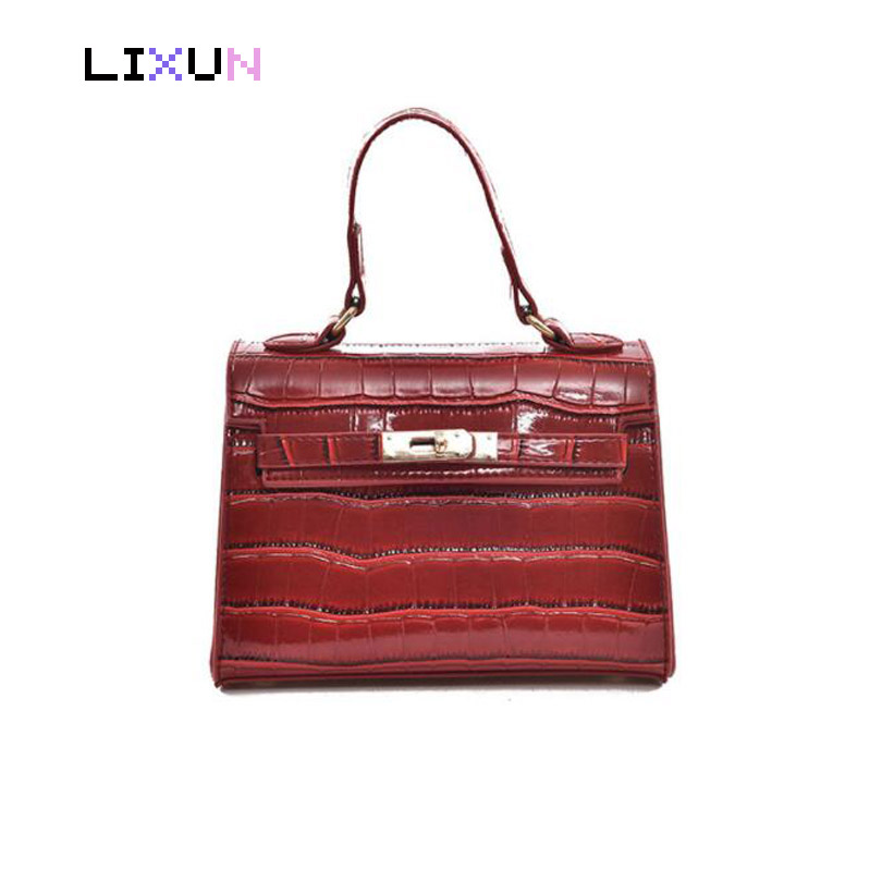 2018 New Arrival European Style Kate Handbags Women Alligator leather Crossbody Bags Messenger Shoulder Bag Tote femininas Bolsa женские блузки и рубашки hi holiday roupas femininas blusa blusas femininas