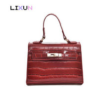 2018 New Arrival European Style Kate Handbags Women Alligator Leather Crossbody Bags Messenger Shoulder Bag Tote