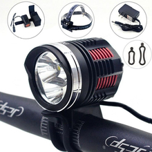 6000-Lumen T6 LED High Power Bicycle Bike Light Kit luces bicicleta 3*Cree XM-L2 XML2 4-Mode LED Headlight Bike Accessories