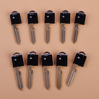 beler 10pcs Uncut Blank Emergency Insert Remote Smart Key Blade Fit For Nissan Armada Infiniti FX35 EX35