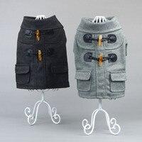 New Winter Pet Clothes Suit Horn Dog Dress Joker Than Xiong Jinmao Teddy Dog Clothes