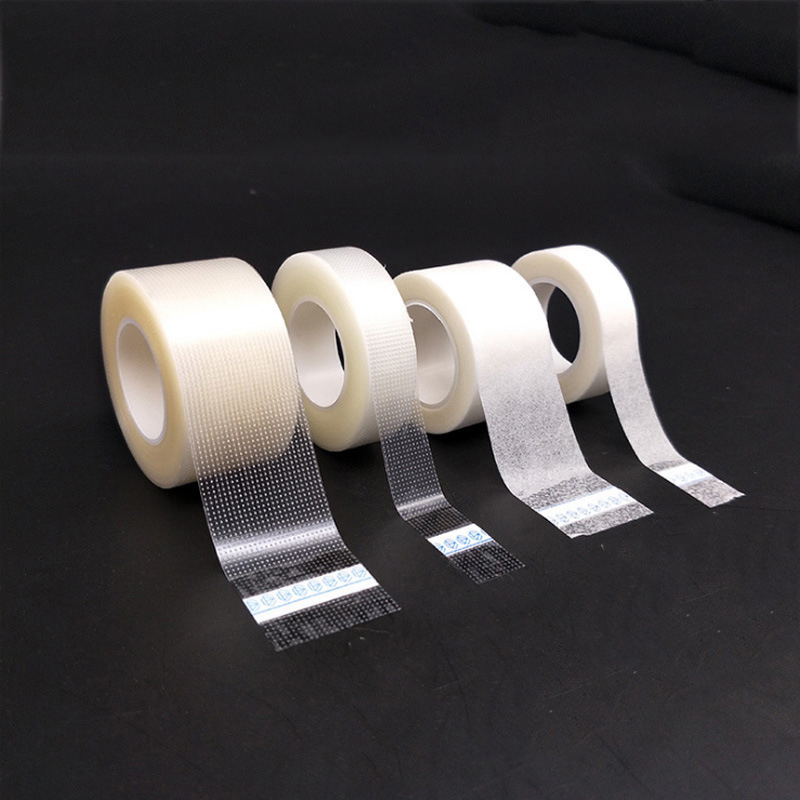 2Rolls/Lot Medical Tape Breathable PE/Nonwoven Hypo-allergenic Tape Fixed Bandage First Aid Accessories